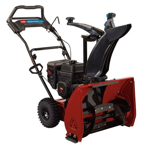 toro 24 in snowmaster single stage gas snow blower 36001