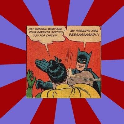 Batman Robin Meme Generator - batman slapping robin meme generator
