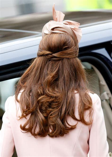 half up half down hairstyles kate middleton 12 half up half down hairstyles you have to try stylecaster