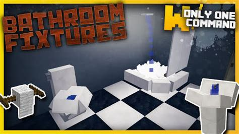 minecraft bathroom mod bathroom fixtures command block 1 9 1 1 9 mod minecraft net
