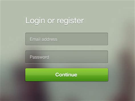 design inspiration login page 33 exles of login form designs for your inspiration