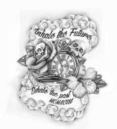 money is the root of all evil tattoo skulls and time tattoo design by griffongore on deviantart