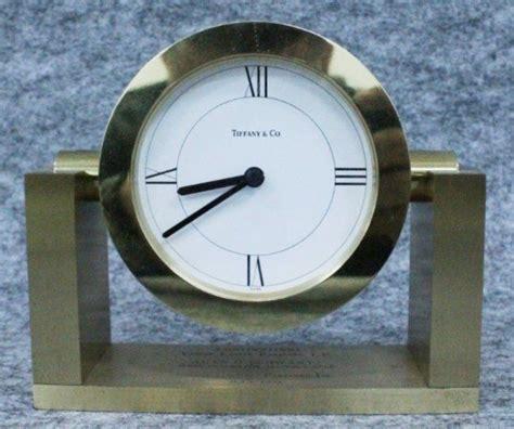 tiffany desk clock tiffany and co desk clock clocks pinterest