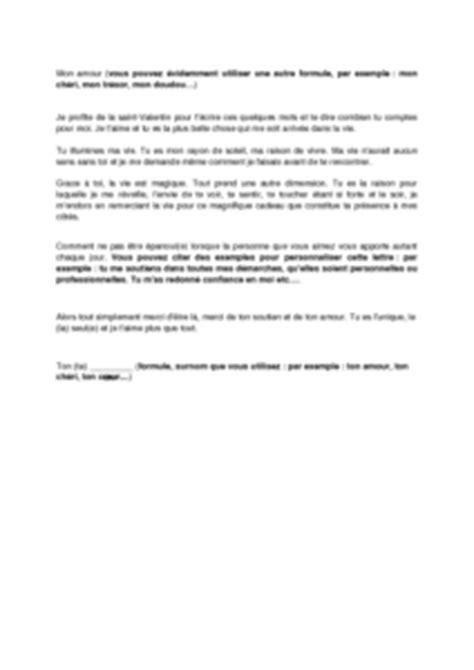 Exemple De Lettre St Valentin Lettre De D 233 Claration D Amour Pour La Valentin Mod 232 Le De Lettre Gratuit Exemple De
