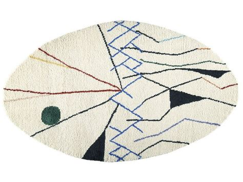 tappeto ovale tappeto ovale in a motivi geometrici mobile tappeto