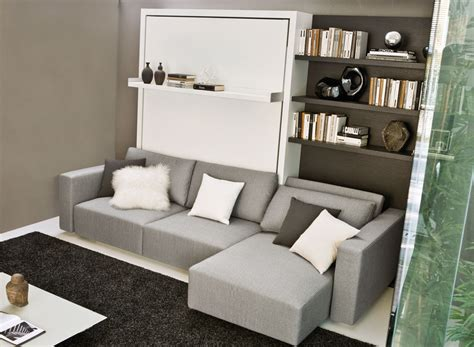swing swing swing wall bed sofa with chaise save space