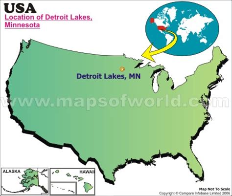 map of usa detroit where is detroit lakes minnesota
