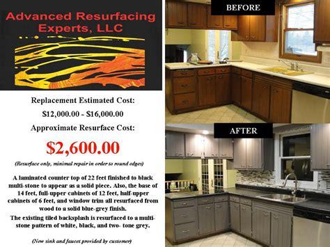 Kitchen Resurfacing by Advanced Resurfacing Experts Llc