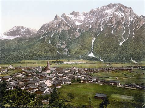 Um Search File Mittenwald Um 1900 Jpg Wikimedia Commons