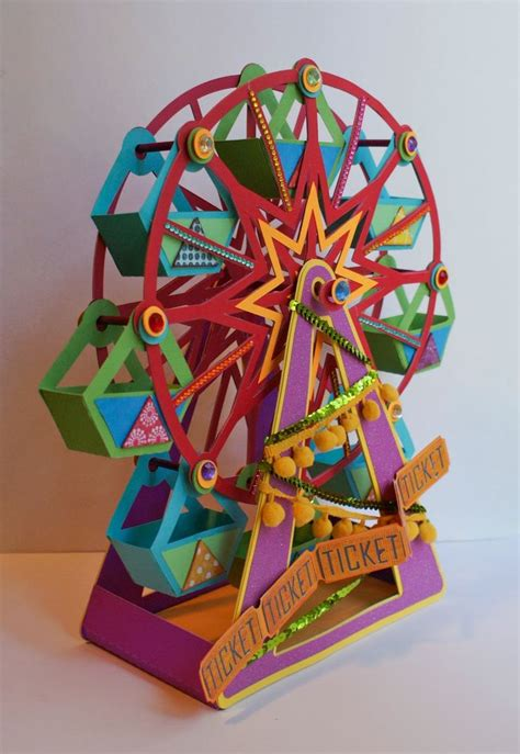 9 best images about paper riesenrad on pinterest party