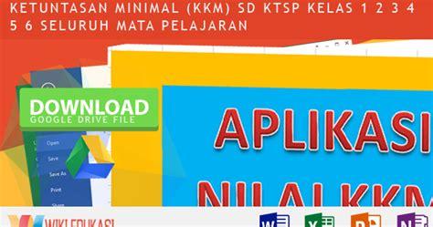 sebutkan minimal 5 format buku digital aplikasi menghitung nilai kriteria ketuntasan minimal kkm