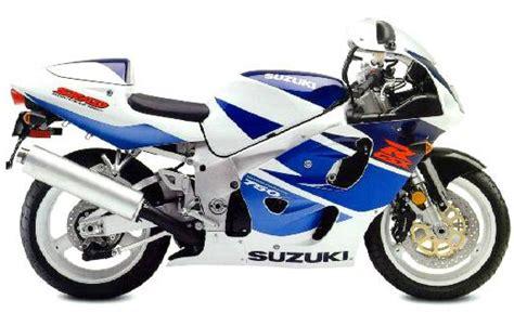 Suzuki Gsxr 750 1998 Suzuki Gsx R 750 1996 1999
