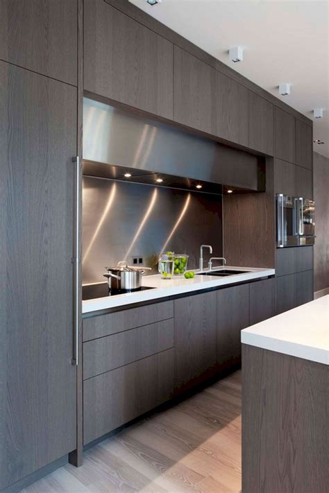 modern kitchen design idea stylish modern kitchen cabinet 127 design ideas