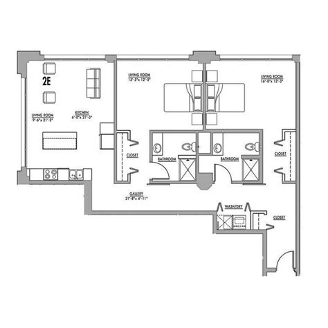 factory lofts floor plans floor plan 2e junior house lofts