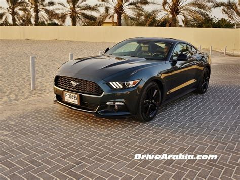 Ford Mustang 2015 Ecoboost by Drive 2015 Ford Mustang Ecoboost In The Uae Drive