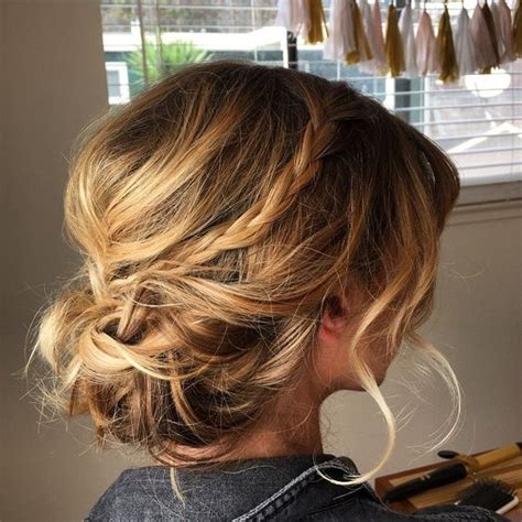 perfectly imperfect messy updos for girls with medium