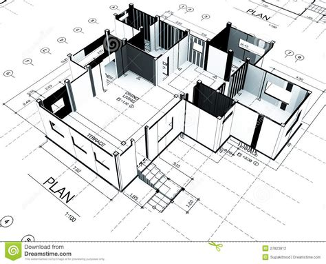 home plot plan stock photography image 27823812