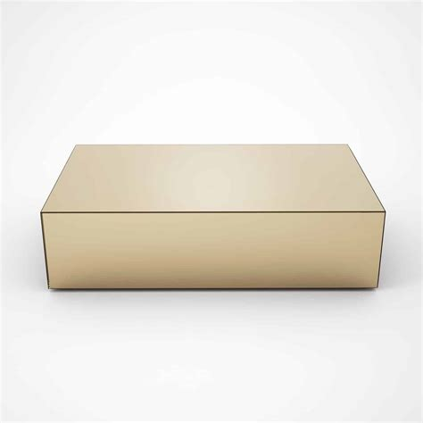 bronze coffee tables rectangular bronze mirrored coffee table by mirrorbox