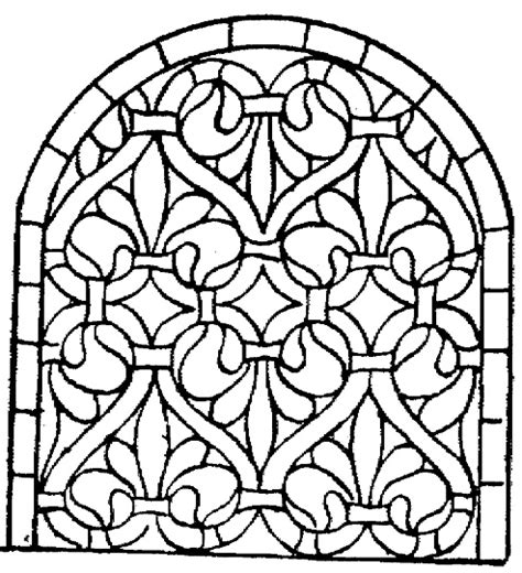free coloring pages of disney stained glass