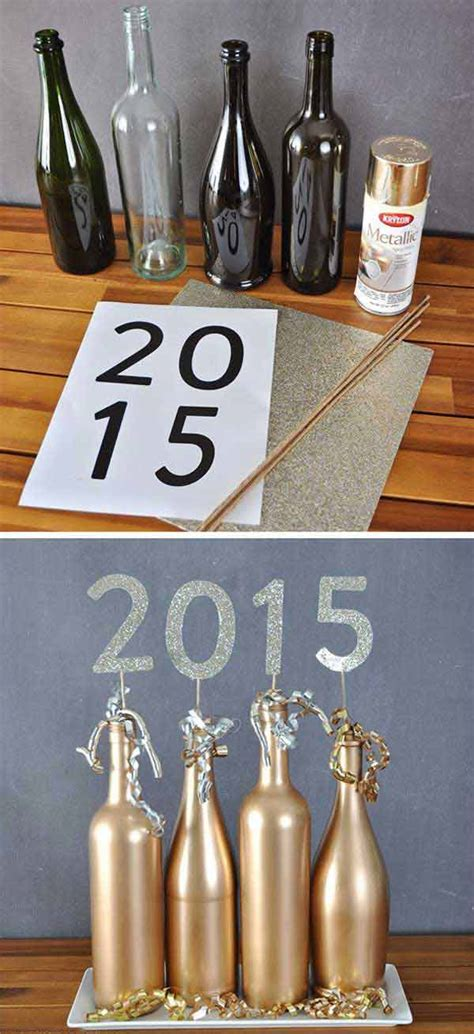 how to diy new year decorations top 32 sparkling diy decoration ideas for new years