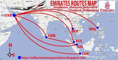 emirates new routes routes map emirates routes map