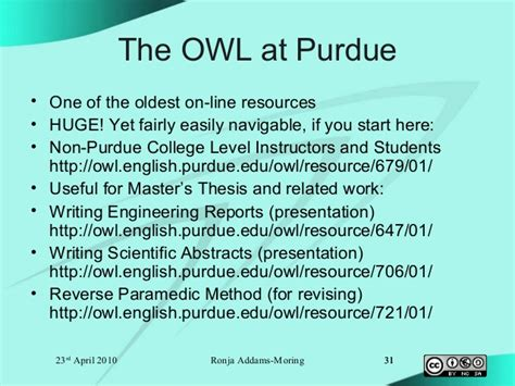 owl at purdue thesis moring 2010 masters thesis in english tkk lib apr 23