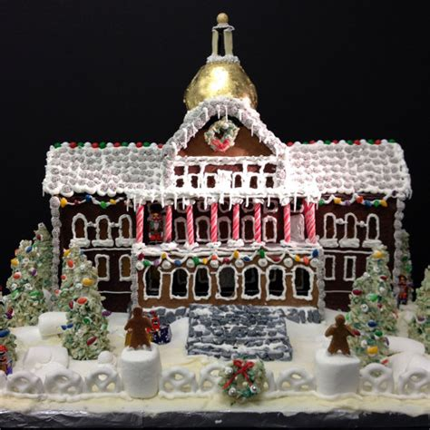 see a gingerbread three decker at bsa space boston magazine this is what boston landmarks would look like as