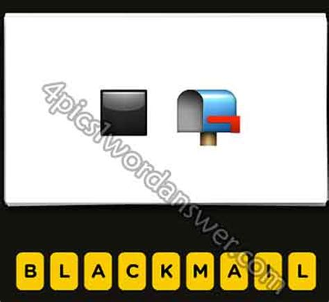 film disc letter mailbox emoji guess the emoji black square and mailbox 4 pics 1 word
