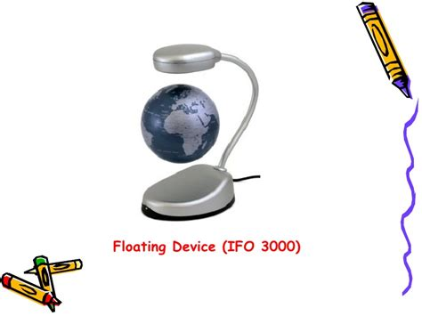 Ifo 3000 Levitating Objects For Your Desk by Few Innovative Products
