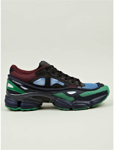 raf simons adidas sneakers adidas by raf simons ozweego 2 sneakers in green for