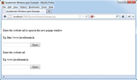 javascript tutorial open new window window open javascript