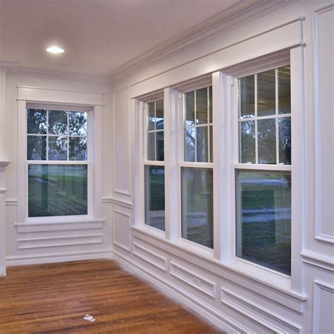 Dining Room Window Dining Room Window Trim Progress