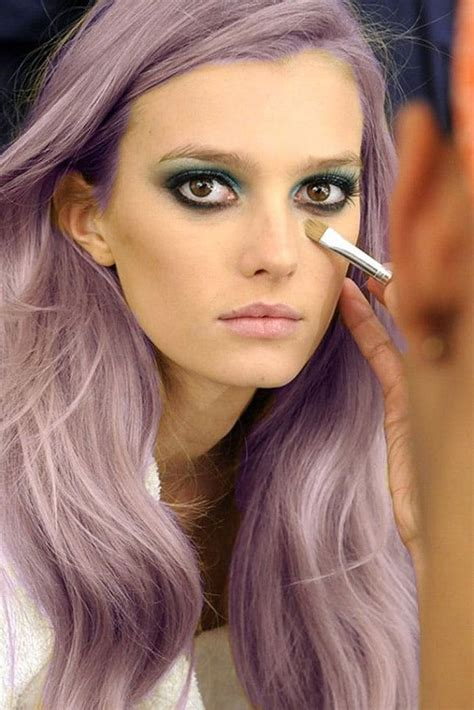 Layna Dusty Purple 15 pretty pastel hairstyles to try this summer brit co