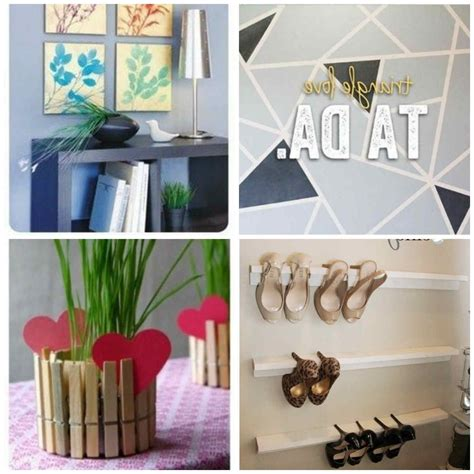 Diy Cheap Home Decorating Ideas | cheap and easy diy home decor projects
