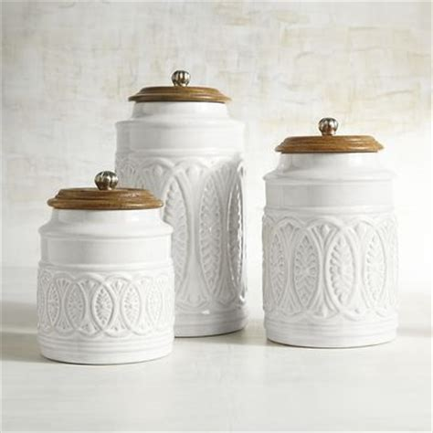 Farmhouse Kitchen Canister Sets And Ivory Farmhouse Canisters