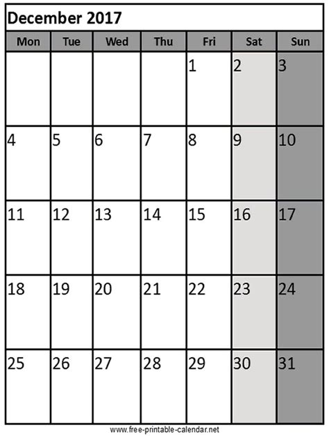 printable calendar dec 17 17 best images about printable 2017 calendar on pinterest