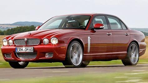jaguar xj  autobildde