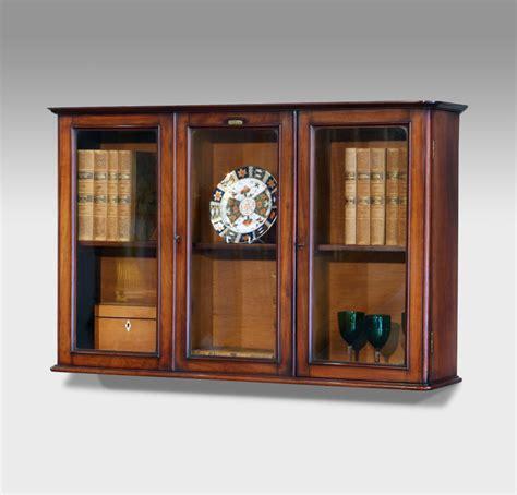victorian display cabinet antique wall cupboard uk