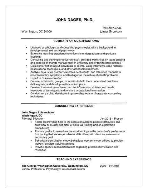 Resume Sles For Fresh Graduates Word Sle Resume Of Hr Manager Resume Format In Microsoft