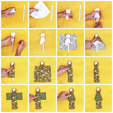 how to make a doll design for how to make a doll babble dabble do