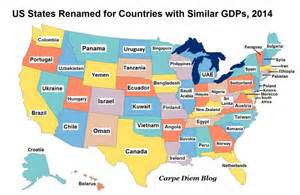 map us states countries if new york is spain and california brazil what is