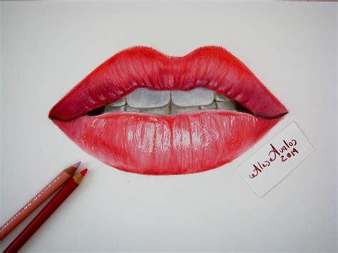 dibujos realistas tutorial tutorial c 243 mo dibujar labios boca con l 225 pices de colores