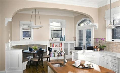 casual kitchen eating area transitional kitchen coin repas convivial gr 226 ce 224 une banquette d angle design
