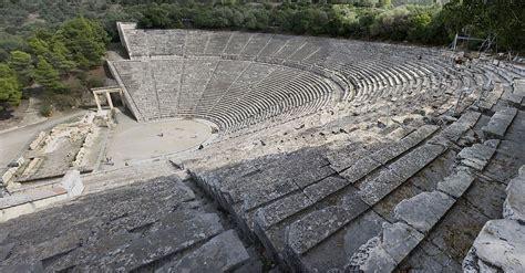 history  epidaurus ancient theater greece