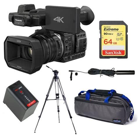 Panasonic Hc Vx985gc K 4k Hd Camcorder panasonic panasonic hc x1000 4k ultra hd camcorder package d