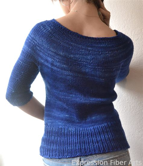 simple jumper pattern knitting a finished object simplest sweater knitted pattern