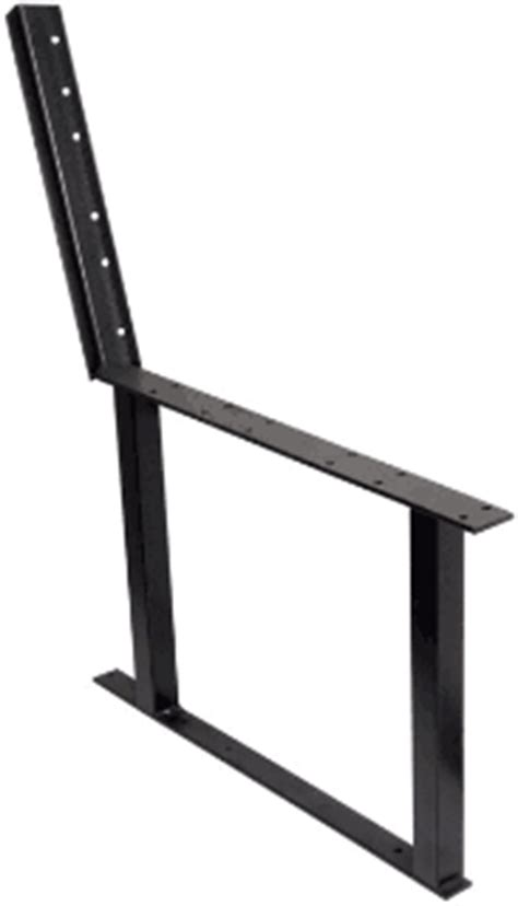 Deck Bench Bracket by Steel Bench Brackets And Deck Seating
