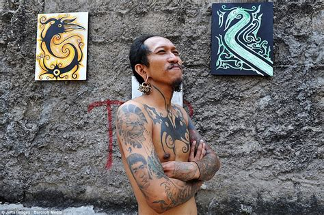 tribal tattoo jakarta skin and bare it tattoo artist in indonesia shows off