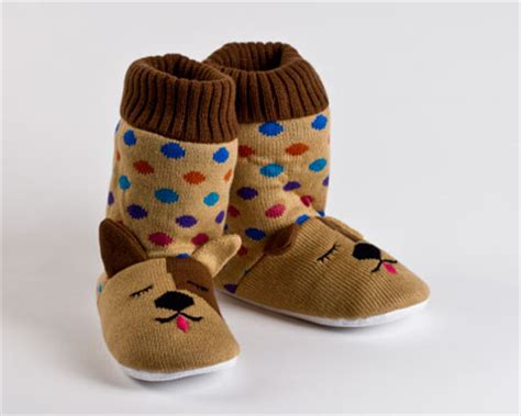 dog house shoes knitted sock dog slippers dog slippers