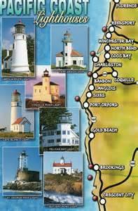 oregon california lighthouse map flickr photo